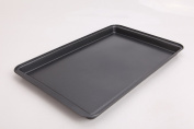 Wee's Beyond 6848-C Non-Stick Easy Release Large Bakeware Cookie Sheet Pan 48cm x 30cm , , Dark Grey