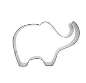 Efivs Arts Elephant Shapes Stainless Steel Cookie Cutter Biscuit Cutter Cookie Mould Cookie Press Cookie Moulds Fondant Cutter