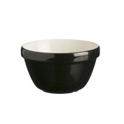 Mason Cash Colour Mix Earthenware All Purpose Bowl, S36, 16cm , Black