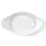 Omniware White Porcelain Au Gratin Dish, 23cm