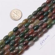 Sweet & Happy Girl'S Store Gemstone Indian Agate Beads Strand 38cm Jewellery Making Beads