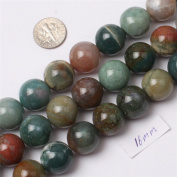 Sweet & Happy Girl'S Store Gemstone Indian Agate Beads Strand 38cm Jewellery Making Beads