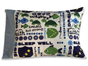Small but Strong Pillowcase FLIPSIDE PILLOW, LLC Children's Minky Autograph pillow case with attached non toxic permanent fabric marker