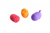 Mould Free Marcus & Marcus Squirting Bath Toy - Marcus the Lion, Lola the Giraffe & Willo the Whale - 3 Mould Free Bath Toys