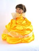 Belle Princess Dress | Fits 46cm American Girl Dolls, Madame Alexander, Our Generation, etc. | 46cm Doll Clothes