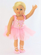 Floral Ballerina outfit | Fits 46cm American Girl Dolls, Madame Alexander, Our Generation, etc. | 46cm Doll Clothes
