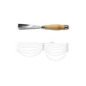 Pfeil Swiss Made #3 Sweep Gouge, 60mm, Full Size