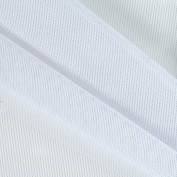 Power Mesh White Fabric By The Yard