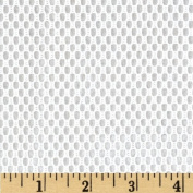 2.4cm Utility/Weavers Mesh White Fabric By The Yard
