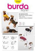 Burda Accessories Dog Coats Sewing Pattern-7752