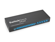 SwitchDeck Infuse 3-port HDMI Switch with Audio Extractor 3x1 HDMI Switch with Audio Extractor and Embedder, PIP
