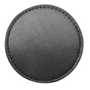 4 x Faux Leather Coasters