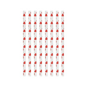 Amscan International Heart Party Paper Straws x 24