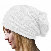 Women Hat,Haoricu Women Fashion Winter Warm Hat Girls Crochet Wool Knit Beanie Warm Caps