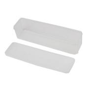 Usstore 1Pcs Storage Box Single Layer Refrigerator Food Airtight Container Box