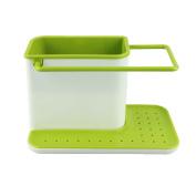 HANYI Hot Sale Storage Box Portable Organiser 3 IN 1 Glove Storage Debris Rack Dishclout Storage Rack kitchen Stands Utensils