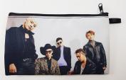 BIGBANG Big Bang K-POP BIG Zip Pen Pencil / Cosmetic Makeup Case Bag Pouch Stationery BB-025