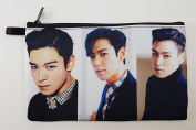 TOP T.O.P In BIGBANG Big Bang KPOP BIG Zip Pen Pencil /Cosmetic Makeup Case Bag Pouch Stationery BB-022