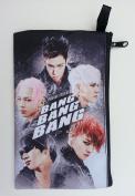 BIGBANG Big Bang K-POP BIG Zip Pen Pencil / Cosmetic Makeup Case Bag Pouch Stationery BB-018