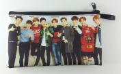 "EXO FROM EXO PLANET ""EXO-K +EXO-M"" KPOP Korean Boy Band BIG Zip Pen Pencil Stationery / Cosmetic Makeup Case Bag Pouch EXO-025"