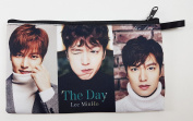 LEE MIN HO Korean Actor BIG Zip Pen Pencil / Cosmetic Makeup Case Bag Pouch Stationery LEE-013