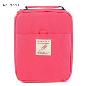 Universal Pencil Bag organiser for 100 120 132 144 150 coloured Pencils slots holder pen case School Stationery PencilCase Drawing Painting Storage Pouch pencil box qianshan (not pencils) watermelon