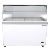Maxx Cold 8 Flavour 0.4cbm Commercial Ice Cream Dipping Cabinet Freezer