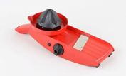 TNS 3000 All-IN-ONE Mandolin Vegetable/Fruit Slicer Julienne Cutter Chopper Juicer - Red Colour