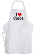 I Love Cocoa – Adult Size Apron