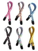 4Pcs Baby Elderly Adult Adjustable Assorted Colour Bib Clip Neck Strap Napkin Clip Lanyard