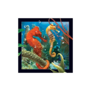 Spectacular 3D magnet - SEAHORSE