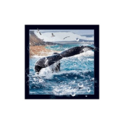 Spectacular 3D magnet - WHALE TAIL
