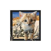 Spectacular 3D magnet - SAND CAT