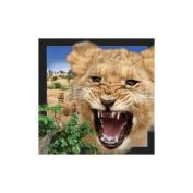 Spectacular 3D magnet - LION