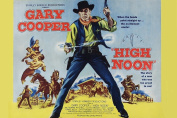 MOVIE POSTER FRIDGE MAGNET - HIGH NOON 3½ x 2½ inches Jumbo