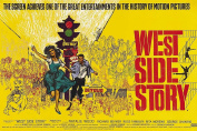 MOVIE POSTER FRIDGE MAGNET - WEST SIDE STORY 3½ x 2½ inches Jumbo