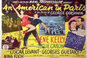 MOVIE POSTER FRIDGE MAGNET - AN AMERICAN IN PARIS 3½ x 2½ inches Jumbo