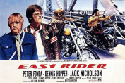 MOVIE POSTER FRIDGE MAGNET - EASY RIDER 3½ x 2½ inches Jumbo
