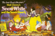 MOVIE POSTER FRIDGE MAGNET - SNOW WHITE AND THE SEVEN DWARFS 3½ x 2½ inches Jumbo