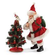 Department 56 Possible Dreams Christmas Santa's Tree Toppler Figurine
