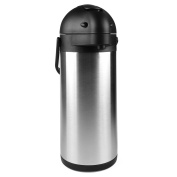 2990ml (3 Litre) Lever Action Airpot / Stainless Steel Thermos / 12 Hour Heat Retention / 24 Hour Cold Retention by Cresimo