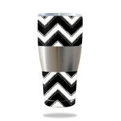 MightySkins Protective Vinyl Skin Decal for IBEX 890ml Tumbler wrap cover sticker skins Chevron Style
