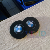Pair of BMW Car Coasters! Highly Absorbent for any BMW cup holders!