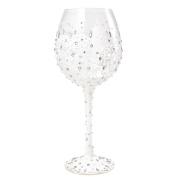 Lolita Glassware Bride Bling Wine Glass (4054099), 25cm , White