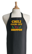 Chilli Cook Off Champion Black Apron For Winning Prize
