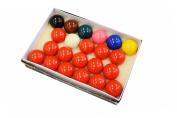 Billiard Depot Snooker Ball Set, 5.2cm , Complete 22 Ball Set