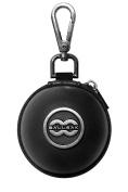 Ballsak Pro - Silver/Black - Clip-on Cue Ball Case, Cue Ball Bag for Attaching Cue Balls, Pool Balls, Billiard Balls, Training Balls to Your Cue Stick Bag EXTRA STRONG STRAP DESIGN!