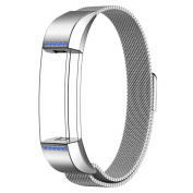 GBSELL New Fashion Crystal Milanese Magnetic Loop Stainless Steel Band For Fitbit Alta Smart Watch