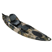 Useful UH-RA220 3.5m Riptide Angler Sit On Top Fishing Kayak with Paddles and Upright Chair and Rudder System Included