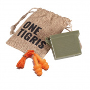 OneTigris Tactical Reusable Ear Plugs for Hearing Protection Shooting Ear Plugs + Carrying Case